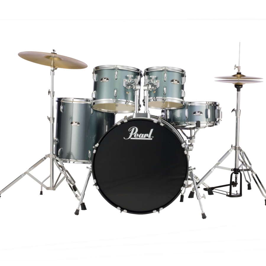 Pearl Roadshow - Charcoal Metallic Fusion Drum Kit