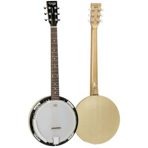 Tanglewood TWB18M6 Maple Guitar Banjo