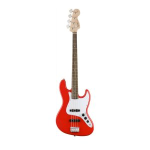 Squier Affinity Race Red Jazz  Bass
