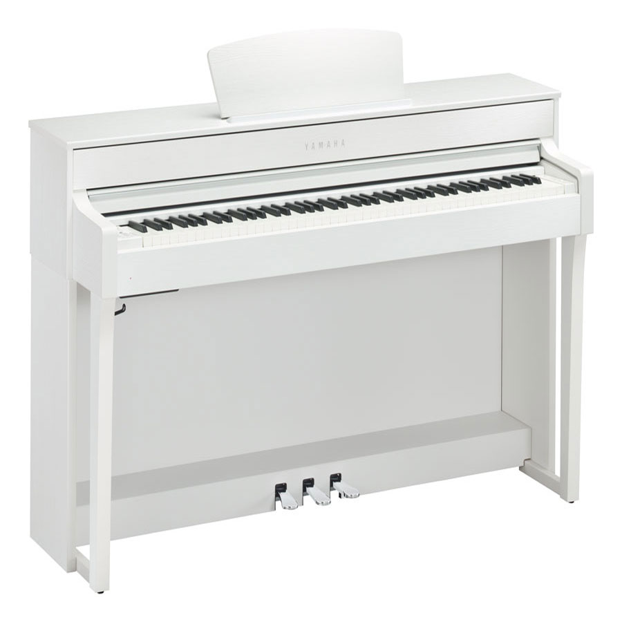 Yamaha clp635wh white satin digital piano mickleburgh for Yamaha clp 635 review