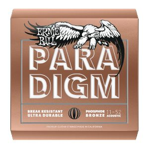Ernie Ball Paradigm 12-54 Phosphor Bronze Guitar Strings