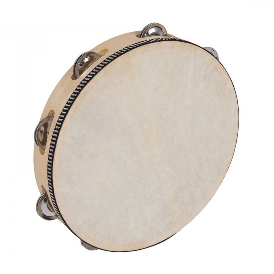 "Performance Percussion PP4004 10"" Skin Head Tambourine"