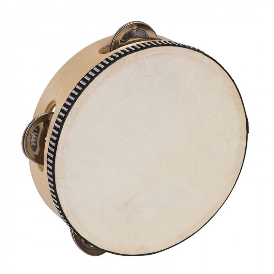"Performance Percussion PP4006 6"" Skin Head Tambourine"