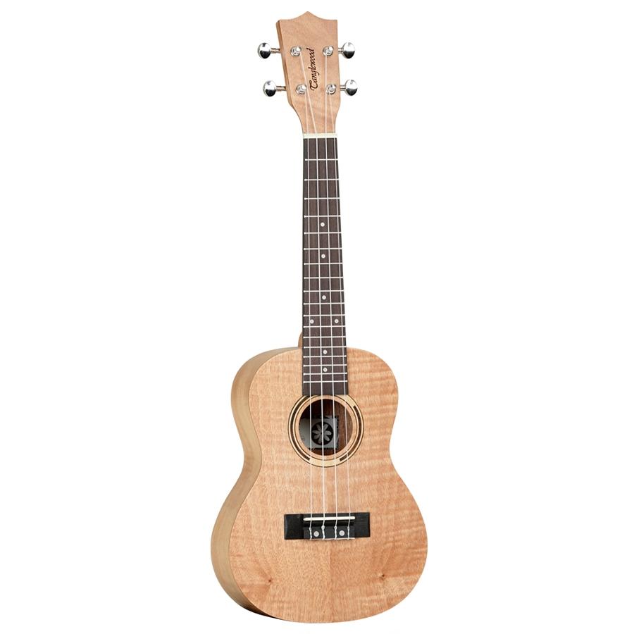 Tanglewood Flame Mahogany Concert ukulele