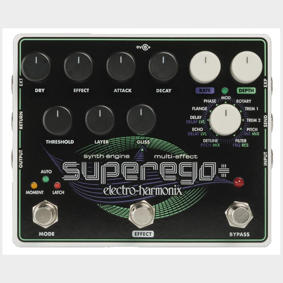Electro-Harmonix SuperEgo+ Multi Effects Pedal