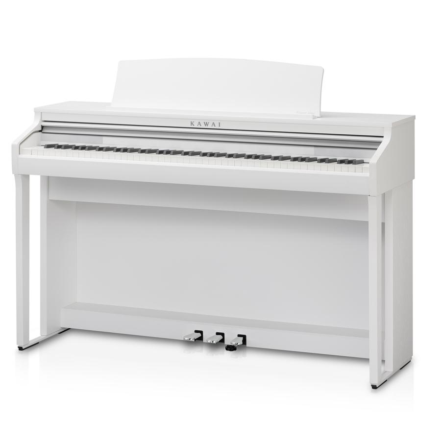 Kawai CA48SW Satin White Digital Piano