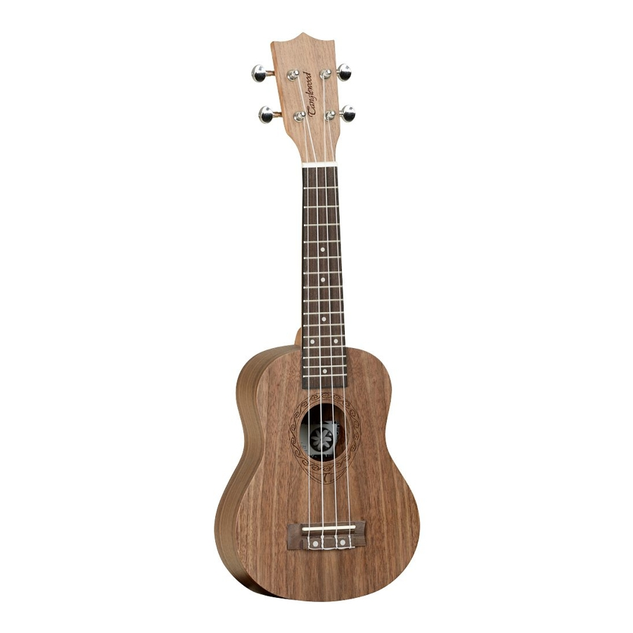 Tanglewood Black Walnut Tiare Range Soprano ukulele