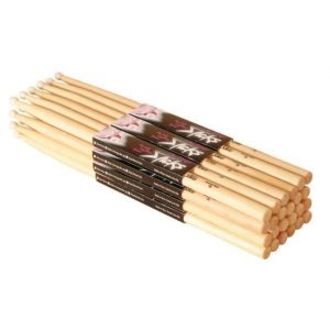 On Stage Maple 2B Nylon Tip Drum Sticks