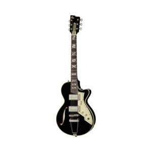 Peerless Retromatic 131 Black Semi-Acoustic Guitar
