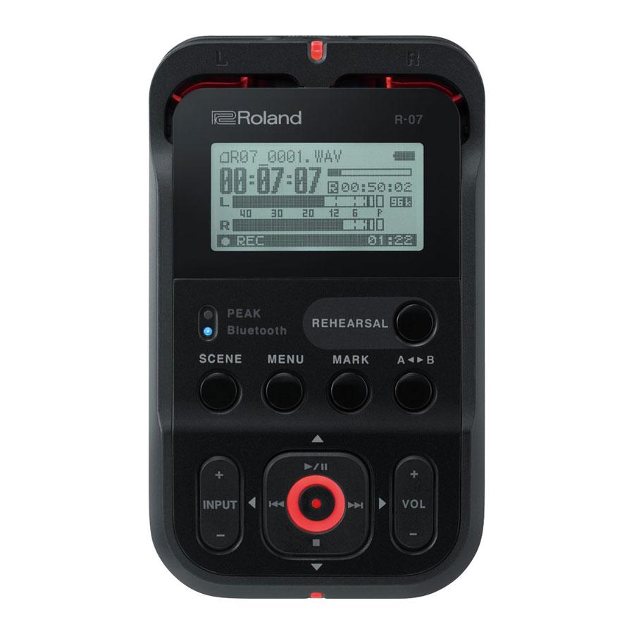 Roland R-07BK Audio Recorder