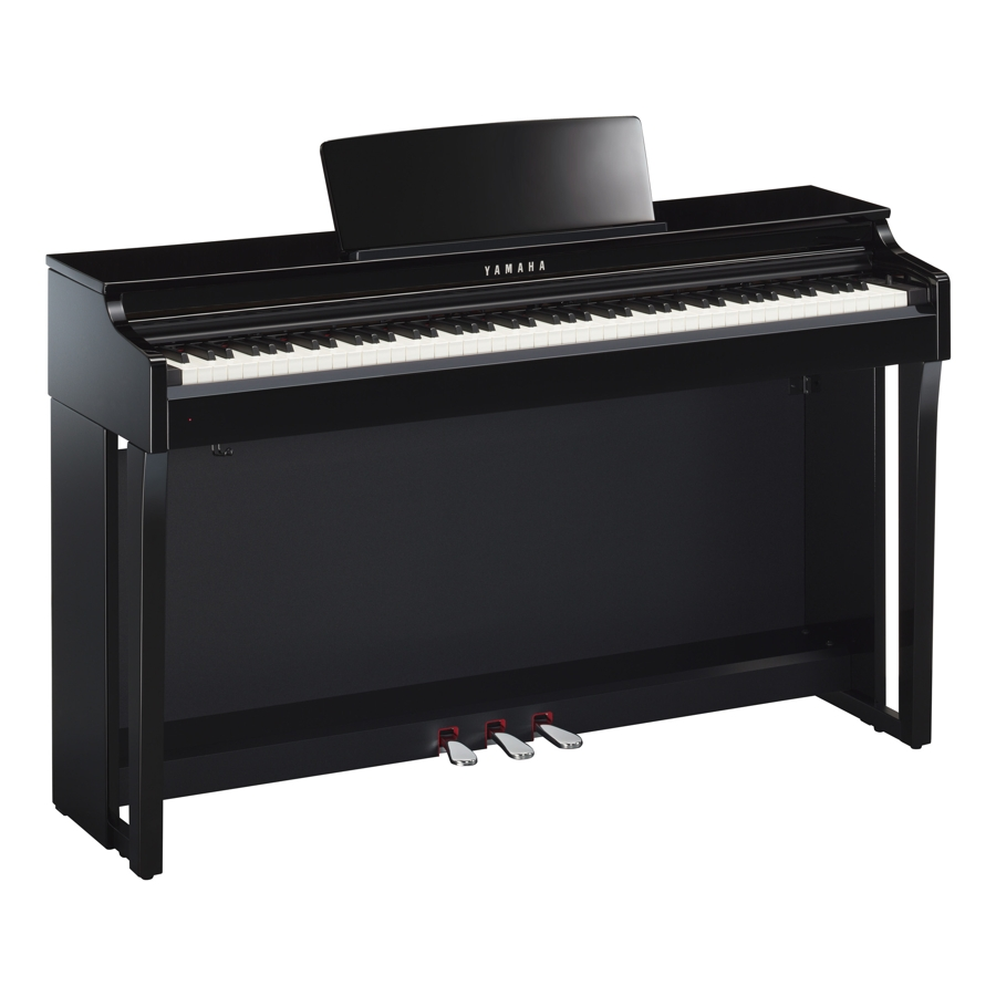 Yamaha CLP625PE Polished Black Digital Piano
