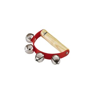 Nino Percussion Wooden Handle  Sleigh Bell