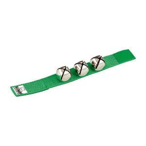Nino Percussion Green Wrist Bells