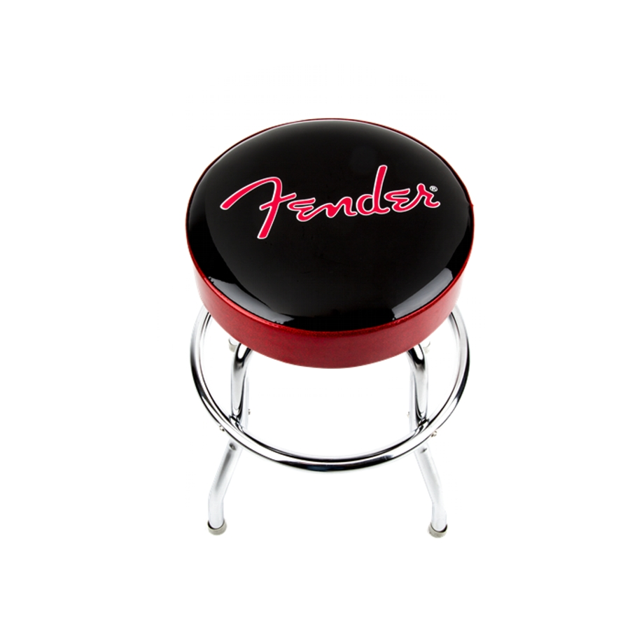 Brilliant Fender 24 Black Red Barstool Camellatalisay Diy Chair Ideas Camellatalisaycom