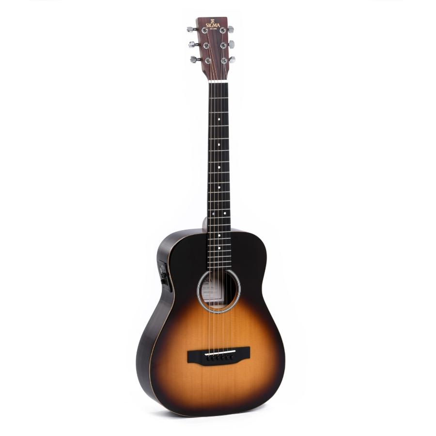 Sigma TT-12E-SB+ Sunburst with bag Travel Guitar