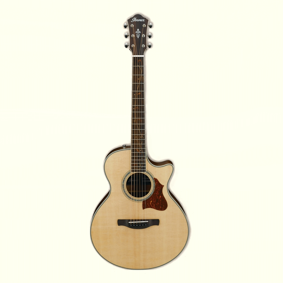 Ibanez AE205JR-OPN Solid Sitka Spruce Top Electro Acoustic Guitar