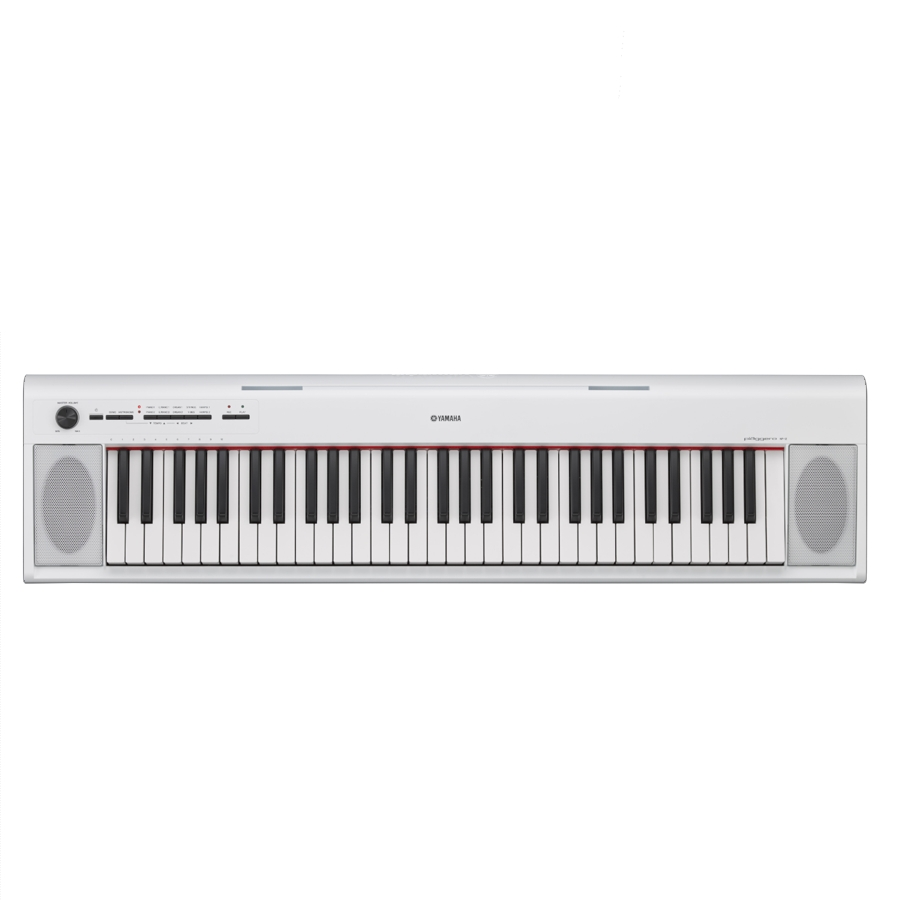 Yamaha NP12WH White Keyboard