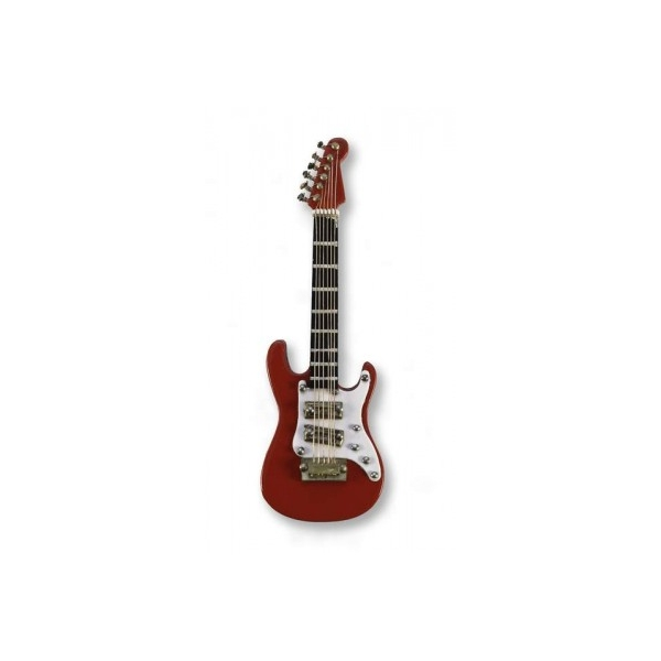Vienna World Electric Guitar Red Magnet