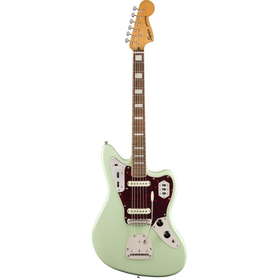 Squier Classic Vibe 70's Jaguar Indian Laurel / Surf Green Electric Guitar