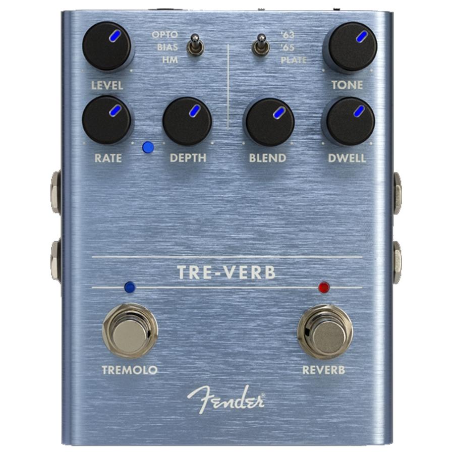 Fender Tre-Verb Tremolo / Reverb Pedal
