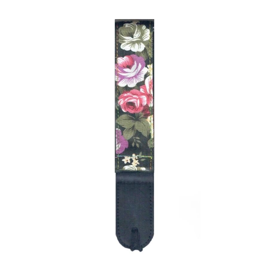 Mickleburgh WUS04 Rose Garden pattern Ukulele Strap