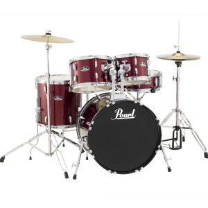 Pearl Roadshow Rock - Red Wine Drum Kit