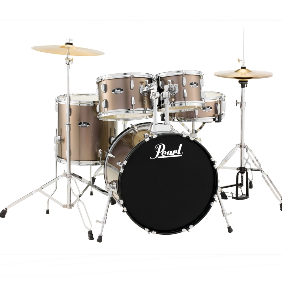 Pearl Roadshow - Bronze Metallic Fusion Drum Kit