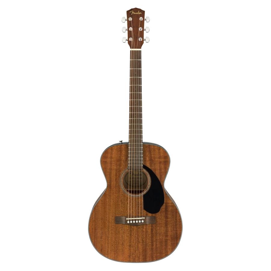 Fender CC-60S-M Folk, All Mahogany/Walnut Acoustic Guitar