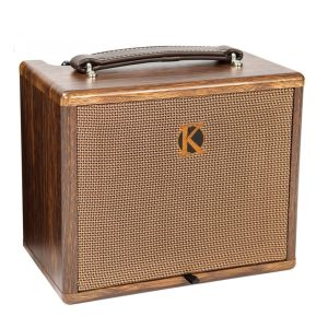 Kinsman KAA25 Battery Powered Acoustic Guitar Amplifier