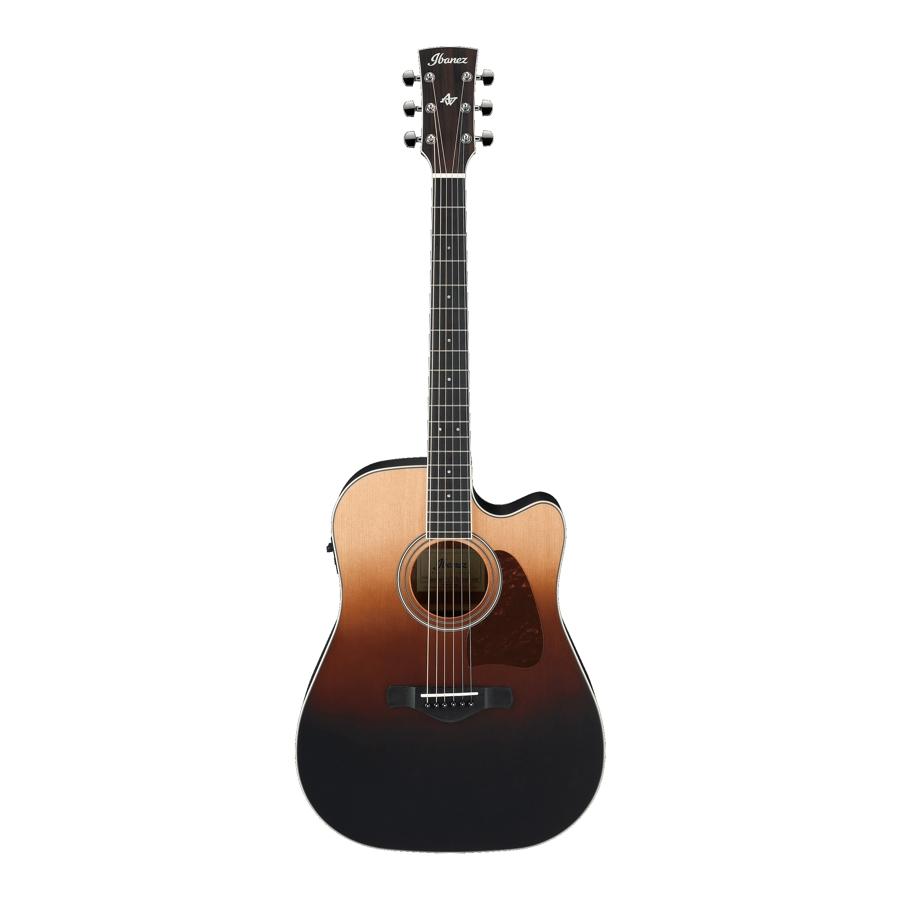 Ibanez AW80CE-BLG Brown Ale Gradation Electro Acoustic Guitar
