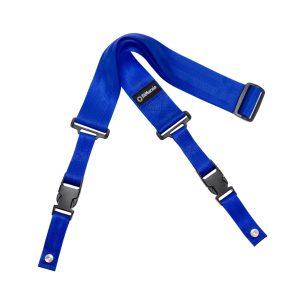 """DiMarzio Quick Release 2"""" Blue Guitar Strap"""