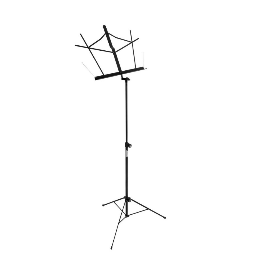 On Stage SM7122B Folding, Black Music Stand
