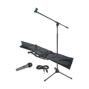 Chord 180.066UK Black Microphone & Stand Starter Pack