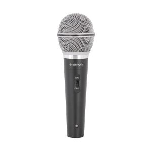 Citronic 173.863UK Grey/Silver Switched Dynamic Microphone