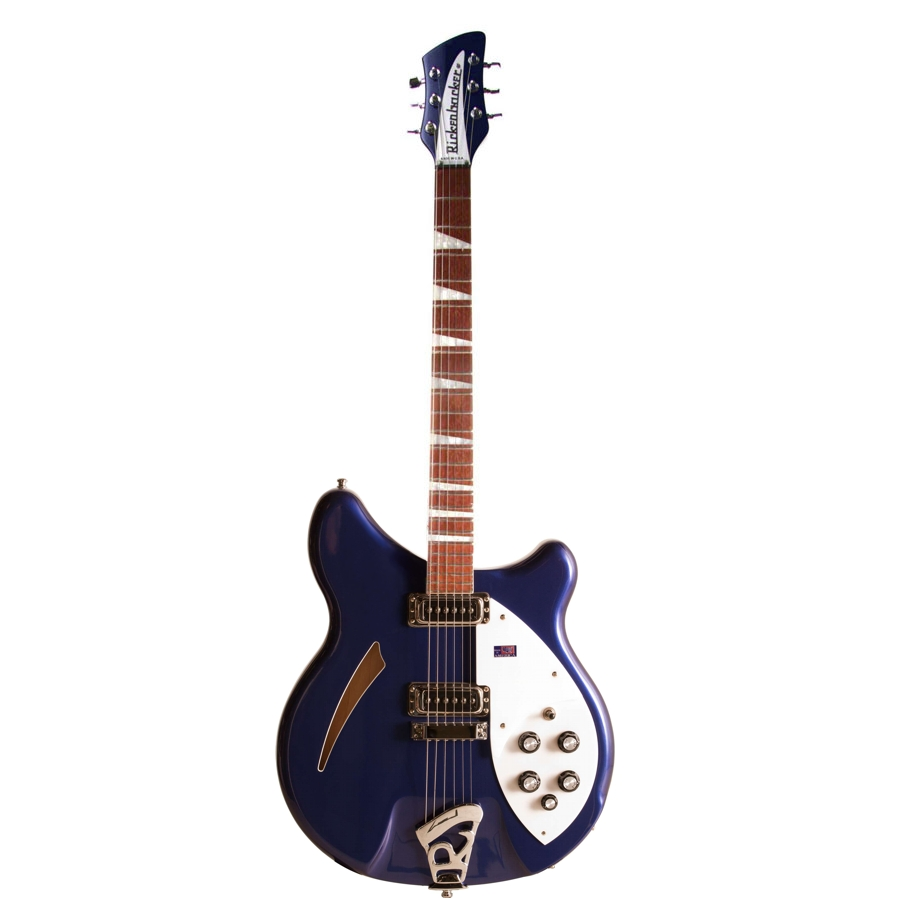Rickenbacker 360 Midnight Blue Hollow-Body Guitar