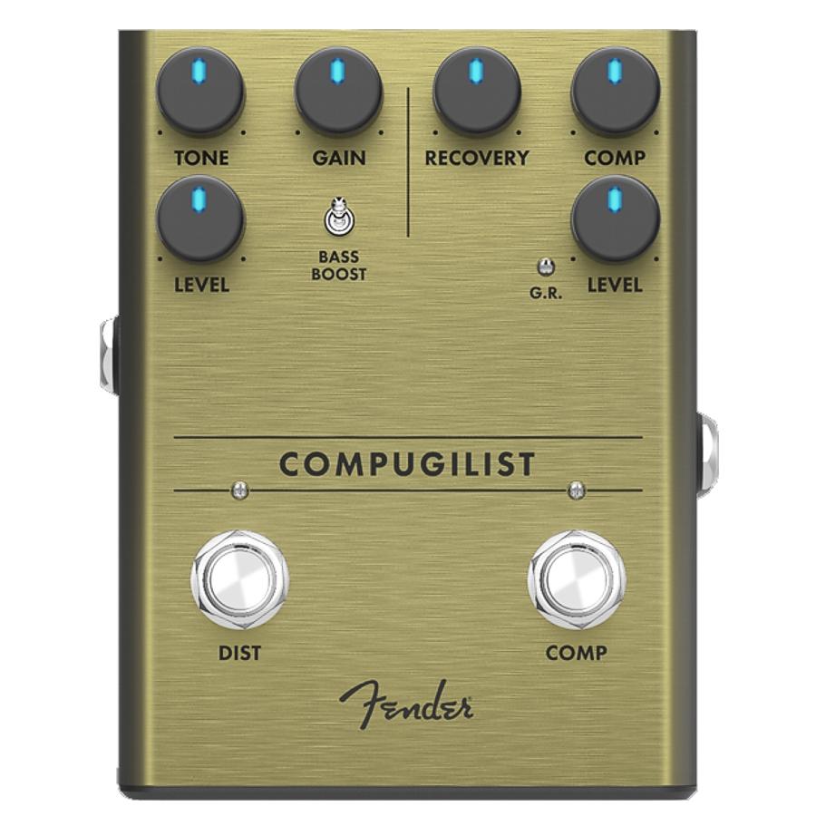 Fender Compugilist Compresion/Distortion Pedal