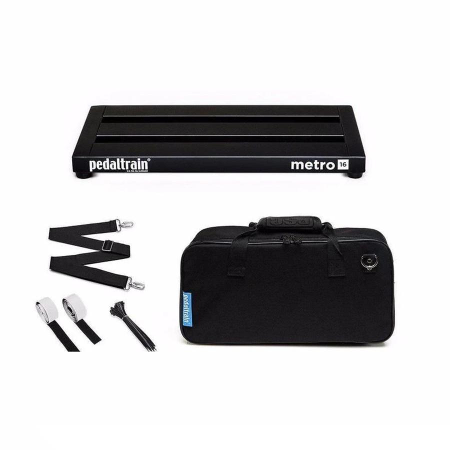 Pedaltrain PT-M16-SC Metro-16 w/soft case Pedalboard