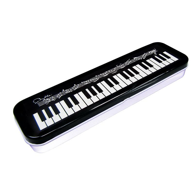 Tin Keyboard Design Pencil Case