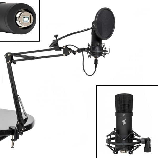 Stagg SUM45-SET Pod-Cast Microphone