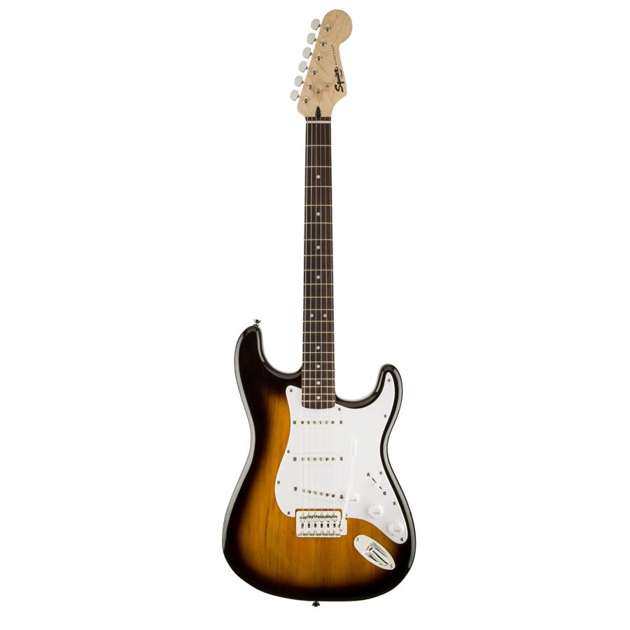Squier Bullet Stratocaster Brown Sunburst/Indian Laurel Electric Guitar