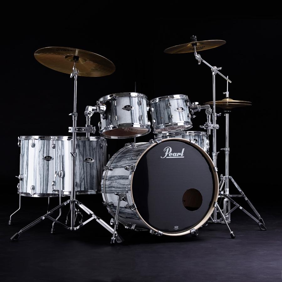 Pearl Export EXA American Fusion - White Limba Effect Drum Kit