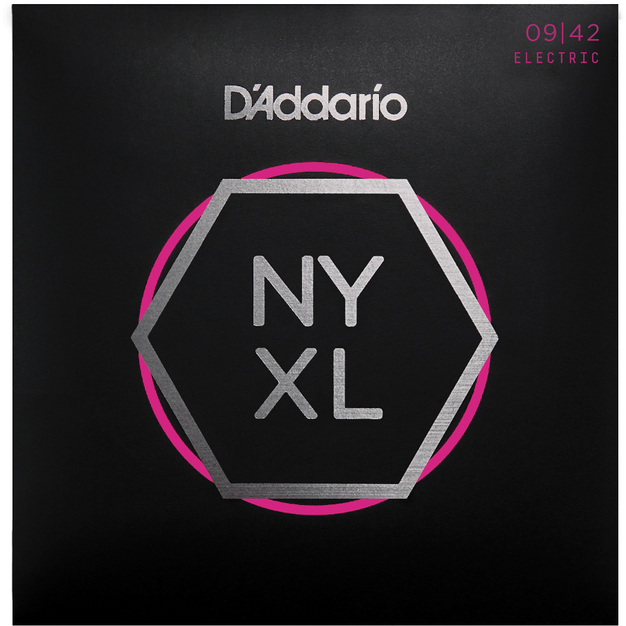 D'Addario NYXL0942 Nickel Wound Electric Strings