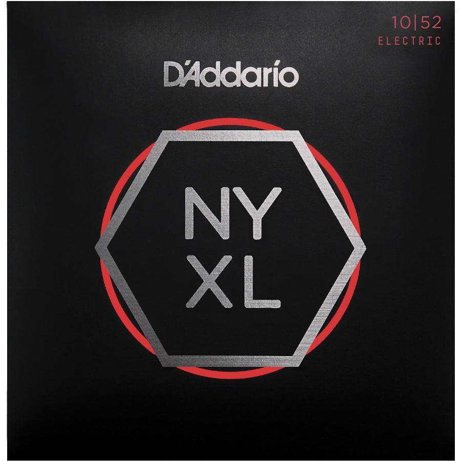 D'Addario NYXL1052 Nickel Wound Electric Strings