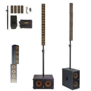 MarkAudio ERGO-4 1400w PA System