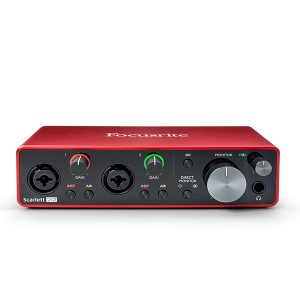 Focusrite Scarlett 2i2 G3 USB Audio Interface
