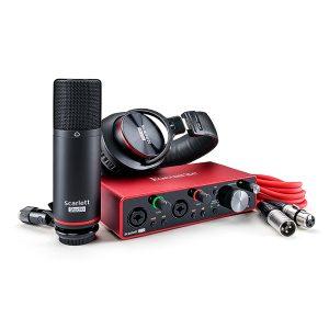 Focusrite Scarlett 2i2 Studio G3 USB Audio Package Interface