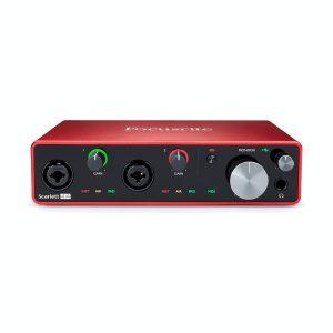 Focusrite Scarlett 4i4 G3 USB Audio Interface