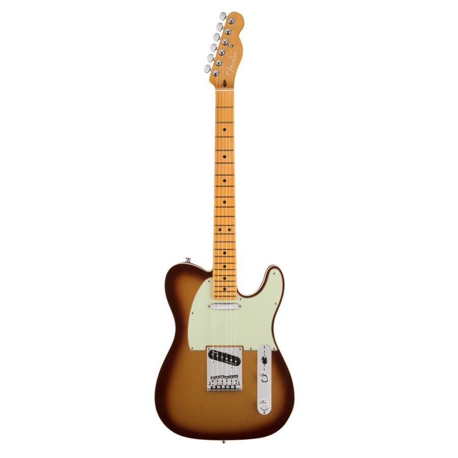 Fender American Ultra Telecaster Mocha Burst / Maple neck Electric Guitar