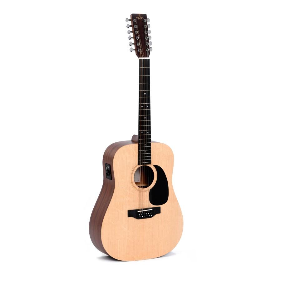 Sigma DM12E+ 12-String Acoustic Guitar