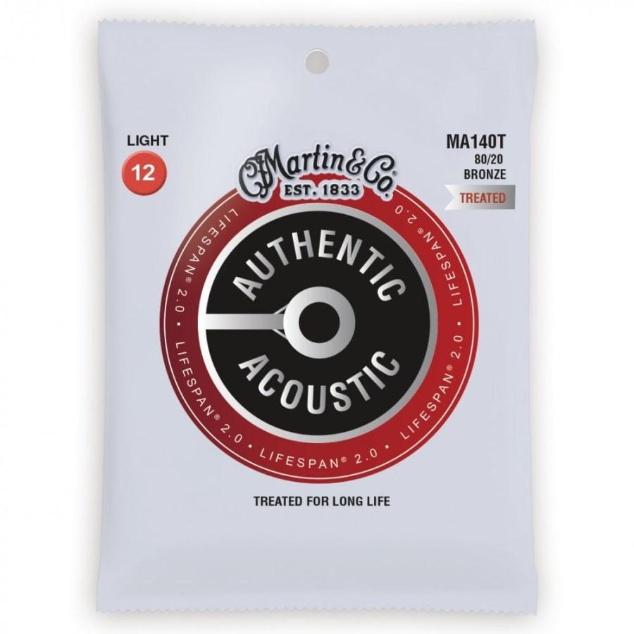 Martin Authentic MA140T 80/20 Bronze 12-54 Acoustic Set